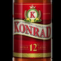 Чеське пиво КОНРАД 12% KONRAD ж/б  0,5 л