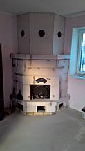теплота в доме , монтаж дымоходов для твердотопливных котлов, камины монтаж, наши работы  11