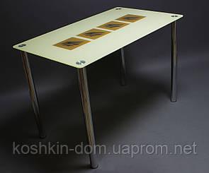 """Стол стеклянный """"Вихрь"""" (обеденные столы)"""