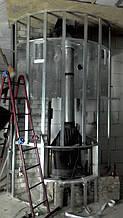 теплота в доме , монтаж дымоходов для твердотопливных котлов, камины монтаж, наши работы  17