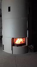 теплота в доме , монтаж дымоходов для твердотопливных котлов, камины монтаж, наши работы  21