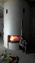 теплота в доме , монтаж дымоходов для твердотопливных котлов, камины монтаж, наши работы  22