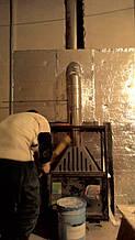 теплота в доме , монтаж дымоходов для твердотопливных котлов, камины монтаж, наши работы  24