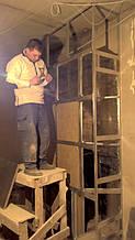 теплота в доме , монтаж дымоходов для твердотопливных котлов, камины монтаж, наши работы  25