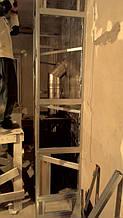 теплота в доме , монтаж дымоходов для твердотопливных котлов, камины монтаж, наши работы  26