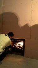 теплота в доме , монтаж дымоходов для твердотопливных котлов, камины монтаж, наши работы  27