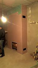 теплота в доме , монтаж дымоходов для твердотопливных котлов, камины монтаж, наши работы  28