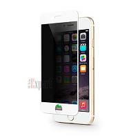 Защитные стекла Full Cover PRIVACY глянец iPhone 6 - Белый