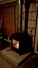теплота в доме , монтаж дымоходов для твердотопливных котлов, камины монтаж, наши работы  31