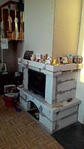 теплота в доме , монтаж дымоходов для твердотопливных котлов, камины монтаж, наши работы  34