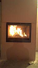 теплота в доме , монтаж дымоходов для твердотопливных котлов, камины монтаж, наши работы  36