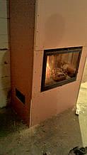 теплота в доме , монтаж дымоходов для твердотопливных котлов, камины монтаж, наши работы  38