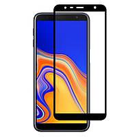 Защитное стекло iPaky Xbillion 3D Full Glue для Samsung J6+ 2018, J610Black, фото 1