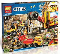 """Конструктор Bela 10876 """"Зона горных экспертов"""" (аналог Lego City 60188), 919 деталей, фото 1"""