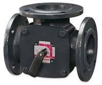 Клапаны смесительные поворотные 3-ходовые серии F DN50-150, ESBE (Швеция)