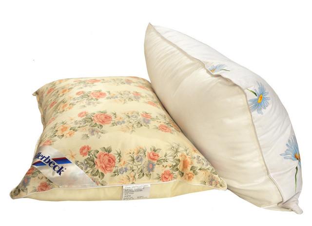 Пуховые и полупуховые подушки