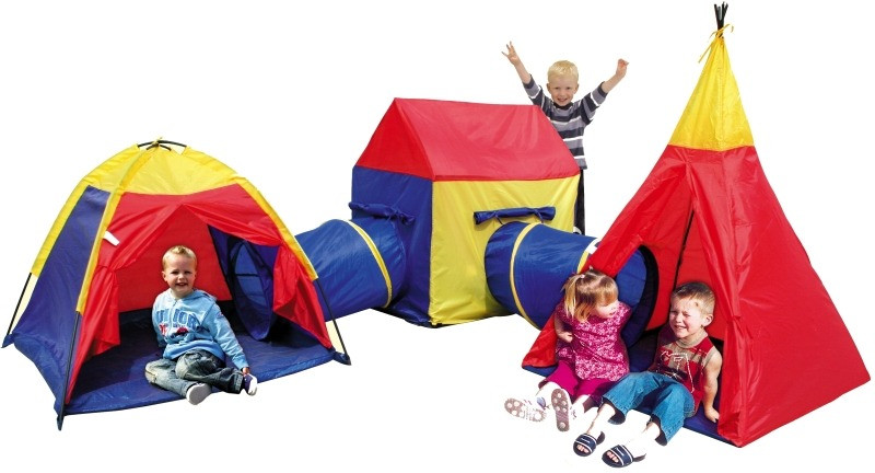 Детская большая игровая палатка Iplay 5в1
