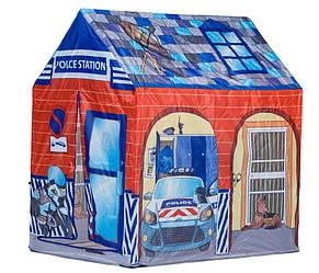 Детская игровая палатка домик для мальчика Полицейский участок