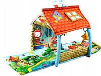 Развивающий коврик-домик Lionelo Agnes 2в1