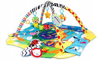Детский развивающий коврик Lionelo Anika 2 в 1