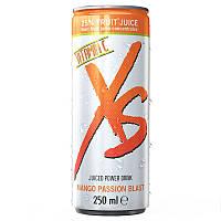 Енергетичний напій із соком зі смаком манго та маракуйї XS™ Juiced Power Drink