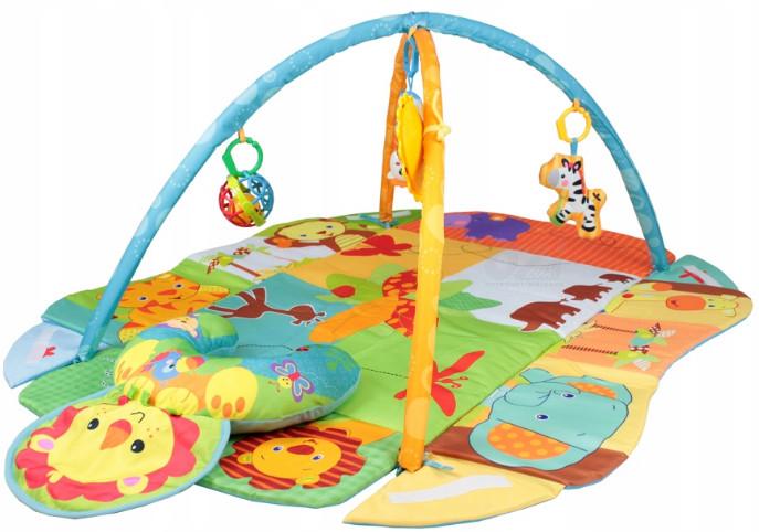 Развивающий коврик - манеж Зоопарк