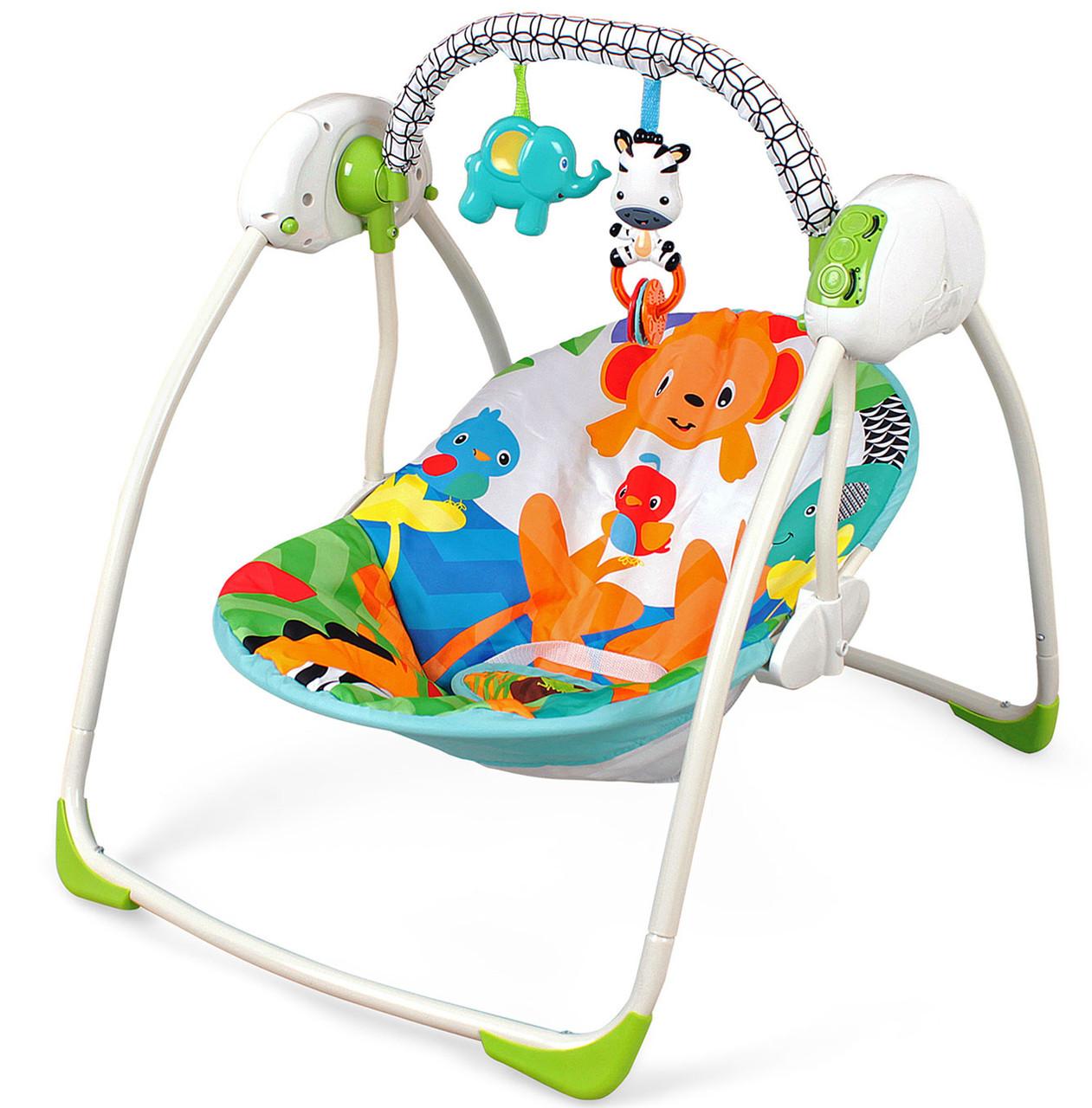 Кресло-качалка Зверюшки Fitch Baby
