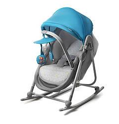 Кресло-качалка KinderКraft UNIMO 5в1 (голубое)