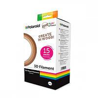 Набір пластику для 3D-ручки Polaroid PLA Play и Root Play WOOD