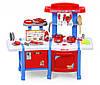 Детская кухня с холодильником и духовкой Cook Set (Синяя), фото 2