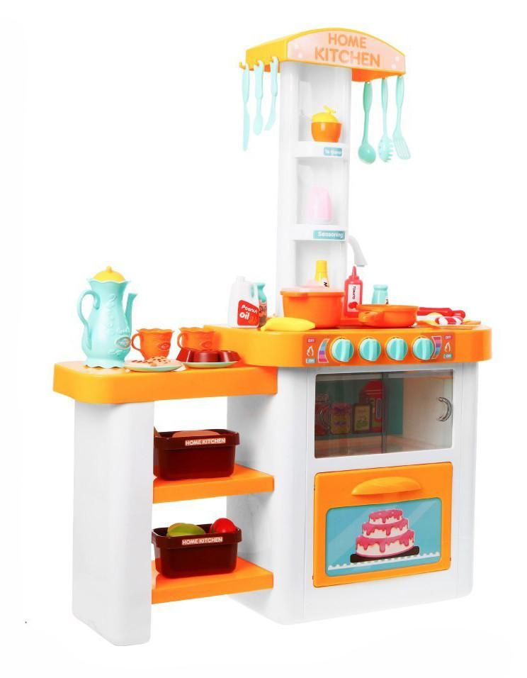 Большая интерактивная кухня Home Kitchen 889-63. Два цвета.
