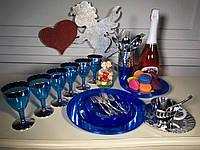 Набор посуды для детского праздника детского дня рождения выпускного утренника небьющиеся бокалы CFP 6шт130мл