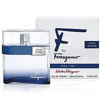 "Salvatore FERRAGAMO ""F"" by Ferragamo FREE TIME men 200ml лосьен после бритья"