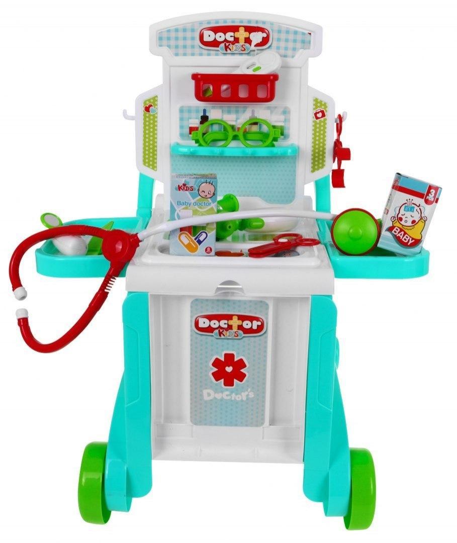 Детский игровой набор Маленький доктор 3 в 1