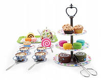 Детский чайный сервиз с десертами 39 элементов