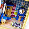 3-х этажный деревянный домик для кукол Sapphire SK-02, фото 6