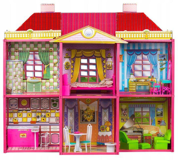 Большой дом для кукол My Lovely Villa