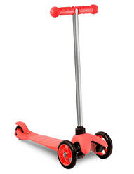 Трехколесный самокат Tobi Toys. Цвет красный