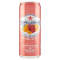 Напиток Sanpellegrino Agrumi e Fico d India, 0.33 мл (Италия)