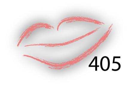 Карандаш для губ Parisa Цвет 405