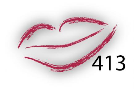 Карандаш для губ Parisa Цвет 413