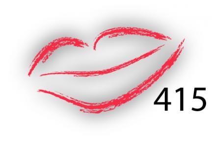 Карандаш для губ Parisa Цвет 415