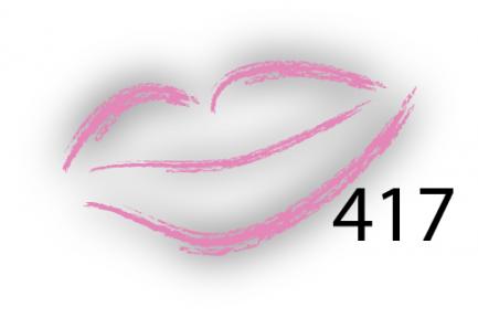 Карандаш для губ Parisa Цвет 417