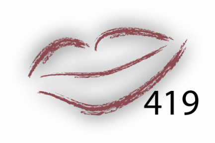 Карандаш для губ Parisa Цвет 419