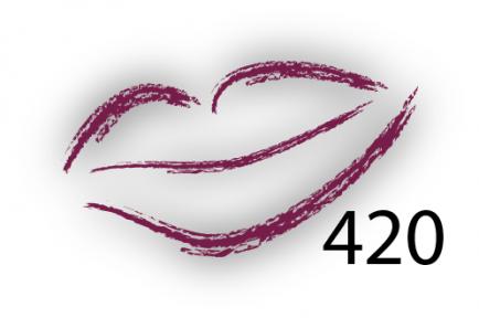 Карандаш для губ Parisa Цвет 420