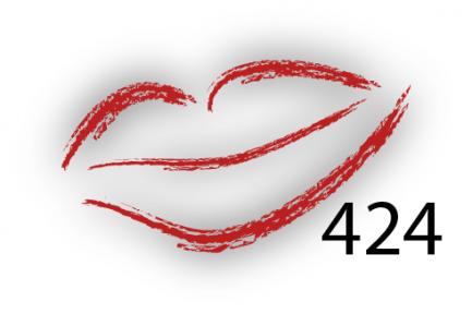 Карандаш для губ Parisa Цвет 424