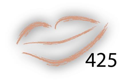 Карандаш для губ Parisa Цвет 425