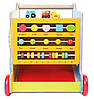 Детские интерактивные деревянные ходунки Ecotoys ZA-2118, фото 2