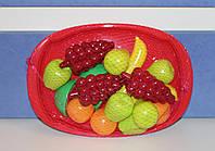 """Набор """"Фруктовый десерт"""" на подносе.  Игровые муляжи фруктов."""
