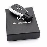 Флешка USB с логотипом Mercedes Benz 32 Gb в подарочной коробке